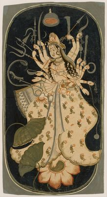 Devi, or the Great Goddess