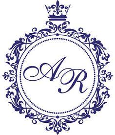 Monogramas para Casamento Download Grátis - Toda Atual