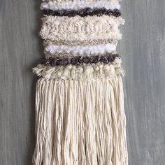 "My Moroccan Wedding Blanket Inspired Wall Weaving"""