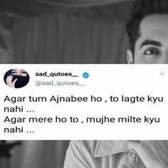 Ayushmann Khurrana Quotes In Hindi - Ayushmann Khurrana Quotes - Quotes interests Sad Breakup Quotes, Shyari Quotes, Crazy Quotes, Mood Quotes, True Quotes, Girly Quotes, Kind Heart Quotes, Funny Quotes In Hindi, Hindi Qoutes