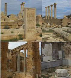 Image Of The Day - Leptis Magna - Largest City Of The Ancient Region Of Tripolitania - MessageToEagle.com
