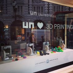 Join United Nude for live entertainment, drinks, retro snacks and lots of rewards when you shop their new autumn/winter collection. Spend over £100 and a 3D printed bracelet is all yours. Finish off the festivities by tweeting and instagrammimg #UnitedNudeFNO to win a pair of shoes.