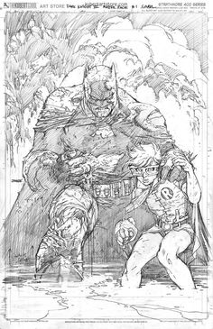 DARK KNIGHT III: THE MASTER RACE #1//Covers and Splashes/Jim Lee/ Comic Art Community GALLERY OF COMIC ART