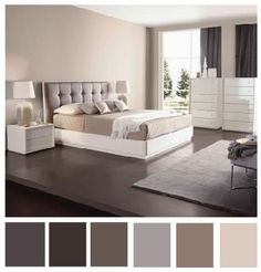 The Perfect Mix Of Neutral Colours Brightens Room Perfectly Home Bedroom