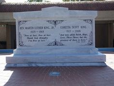 Dr Martin Luther King, Jr and his wife Coretta (Scott) King. Martin Luther King, Jackson Johnny Cash, African American Leaders, American History, Southern Christian Leadership Conference, Coretta Scott King, Dr Martins, Luther Vandross, Famous Graves