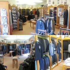 Our shop @ Athlone Road Longford Ireland. Complete mens outfitters and tailors. Call in and have a look. Mens Outfitters, Mens Suits, Tweed, Knitwear, Ireland, Trousers, Menswear, Weddings, Jackets