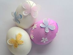 butterfly applique eater eggs