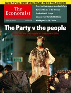 Economist: How do Hong Kong's protests stack up against other displays of people power? They are brave and important, posing the biggest challenge from the streets to China's government since Tiananmen Square in 1989.