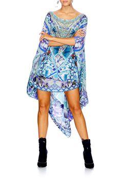 Camilla - The Blue Market / Round Neck Kaftan