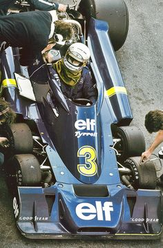 Tyrrell P34, Jody Schecter | Found on fonrenovatio.tumblr.com via Tumblr