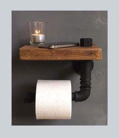 Badezimmerwand ideen DIY house building - luminescence Your Own Home Interior Ideas 2 Small Toilet Room, Home Diy, Diy Bathroom, Diy Bathroom Decor, Toilet, Home Remodeling, Diy Home Decor, House Interior, Bathroom Design