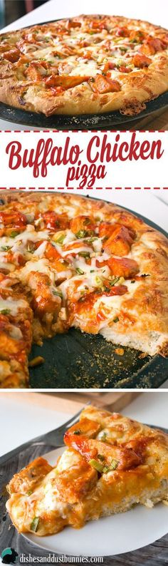 You've got to make this Buffalo Chicken Pizza!
