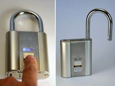 iFingerLock Fingerprint Padlock is a biometric padlock that can accommodate up to 10 fingerprints directly managed on the lock.