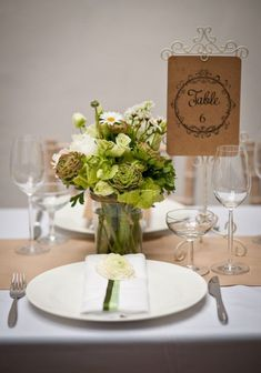 28 Woodland Wedding Table Numbers | HappyWedd.com