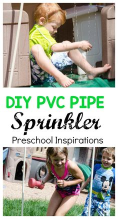 DIY PVC Pipe Sprinkl