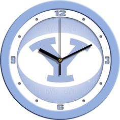 New - Brigham Young Univ. Cougars-Baby Blue Wall Clock