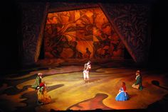 alice in wonderland set design - Google Search