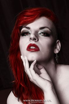 Red is the Coldest Colour with Dannii Horrify Me, horror photography and portraits of rotting zombies, evil vampires, demonic demons, dark erotic beauty and boudoir, hanged victims, human autopsy, gross blood and gory concepts, horror icons and much more. www.horrify.me.uk