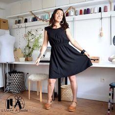Patron de couture du 34 au 52 - Tissu chaine et trame - Marges de couture comprises - Difficulté 2/5 - Lien affilié