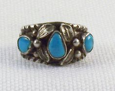 Vintage Unisex Sterling Silver Old Pawn by SultanaVintageJewels
