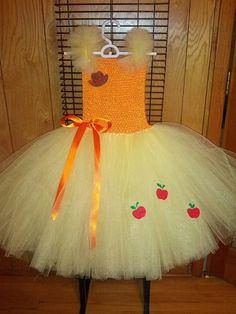 My Little Pony Applejack tutu dress by Fancythatcreation on Etsy, $35.00