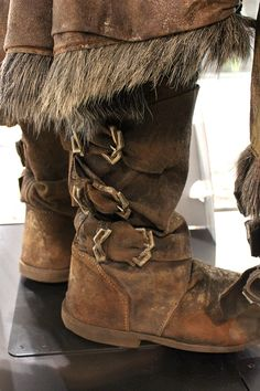 Kili's boots. I like how the buckles tighten the boot.  Peculiar