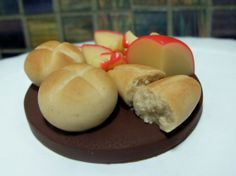 Cheese and Bread Magnetmade to order by Bananamoo on Etsy, $18.00