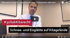 #Kitarecht Folge 91 – Eisglätte bei Kita, Kindergarten oder Hort - Welche Pflichten sind zu beachten? | Mehr dazu auf unserer Webseite ->