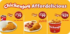 Chickenjoy_affordelicious Jollibee, Muffin, Meals, Breakfast, Food, Morning Coffee, Meal, Muffins, Cupcake