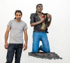 Künstler auf der Flucht, oder: Wie Kunst zur Selbsttherapie wird: Die Galerie…