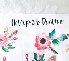 We just added this new font to some of the products in our shop and I'm just a little bit obsessed with it 😍 I love how it looks on our personalized name blankets! And I can't wait to show you the new products we have in the works with it! Baby Milestone Blanket, Baby Milestones, New Fonts, Baby Shop, Baby Names, Baby Gifts, Blankets, Pregnancy, Etsy Seller