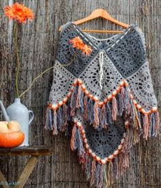 Crochet Poncho Free Pattern All The Best Ideas