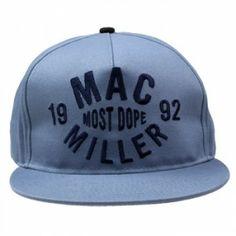 eea2082d77d Mac Miller - Thumbs Up on Blue Snap Back - Hat  snapbacks  snapbax