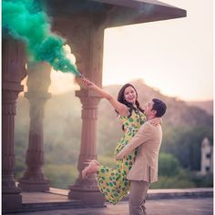 9 Props To Make Your Pre-Wedding Shoot Look Super Adorable! Wedding Vow Art, Pre Wedding Shoot Ideas, Pre Wedding Photoshoot, Trendy Wedding, Wedding Reception, Post Wedding, Wedding Poses, Illusion Neckline Wedding Dress, Wedding Dress Necklines