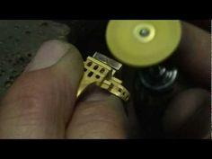 Création d'un bijou Tournaire -- 3 -- La préparation et le polissage