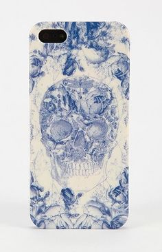 Toile Skull iPhone 5 Case