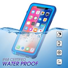 f78b662ad54 Hybrid Rubber Full Body Protective Shockproof Snowproof Dirtproof IP68  Certified Waterproof TPU Phone Case Cover For iPhone X/8/8 Plus/7/7 Plus/6s  6 ...