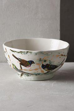 Dreambirds Bowl by Ruan Hoffmann