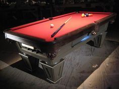 Follow these step-by-step instructions for making a billiard table you can call your own.