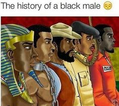 The history of the black male