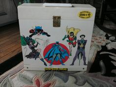 1977 Washable Record & Toy Carry Case With 29 by pinkrhinovintage, $50.00