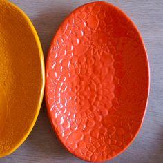 germ of an idea:  handmade ceramic plate by atelierBB (etsy) http://www.etsy.com/shop/atelierBB