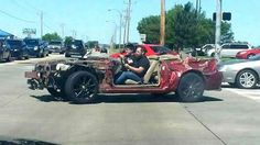 This Guys Mustang Was Hit By The Oklahoma Tornado