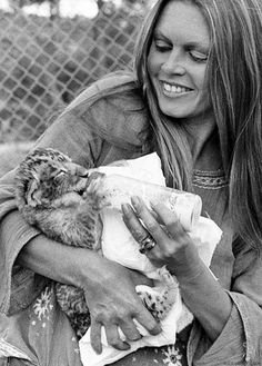 Brigitte Bardot - World Renowned Animal Rights Activist.