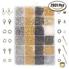 Pcs Findings DIY Jewellery Making Open Jump Rings Dark Blue Aluminium 6mm  900