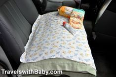 Tips and advice for traveling by car                         with your baby, toddler, or young child