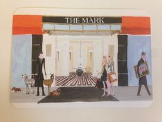 SS - Postcard from The Mark Hotel