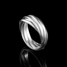Anel Cartier Sete Fios - Anéis - Prata Fina - Joias em Prata