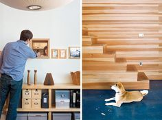 A small, 1100 square foot apartment in Emeryville, California was in need of some creative planning and some rehabilitation. Linda and Peter Benoit worked on the weekends for two years to make this space exactly how they wanted it, and they came up with a spacious, light-filled, unique home that ...