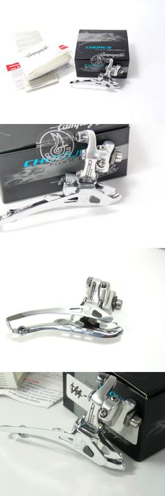 Derailleurs Front 177812: Campagnolo Chorus Front Derailleur Braze On 10 Speed Bicycle 2003 Silver Nos -> BUY IT NOW ONLY: $220.0 on eBay!